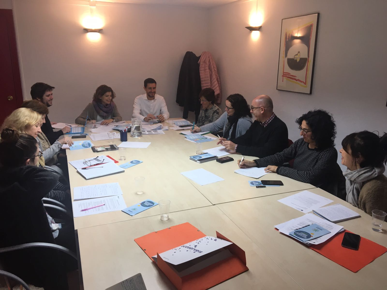 Ecoserveis presents ASSIST to the Table of Third Sector organizations in Catalonia