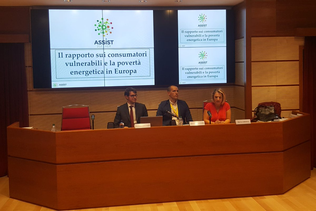 "Evento ""Lotta alla Povertà Energetica in Europa"": ASSIST presenta i TED"